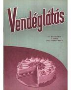 Vendéglátás III. évfolyam 9. szám 1959. szept.