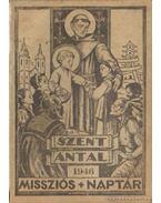 Szent Antal missziós naptár 1946