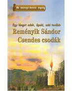 Reményik Sándor - Csendes csodák