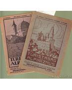 Turistaság és Alpinizmus 1921. (hiányos)
