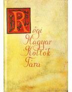 Régi Magyar Költök Tára 7.