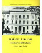 Erdészeti és faipari Tudományos közlemények 1989. 1-2. sz.