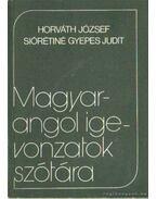 Magyar-angol igevonzatok szótára