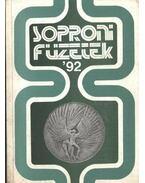 Soproni füzetek '92