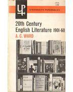 Twentieth-Century English Literature 1901-1960