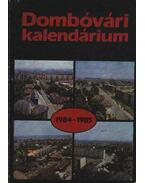 Dombóvári kalendárium 1984-1985.