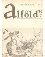 Alföld 1974/7.