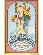Biedermeier Aufschlagkarten (kártyacsomag+füzet)