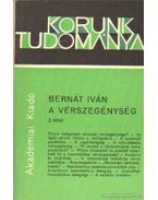 A vérszegénység 2. kötet - Bernát Iván