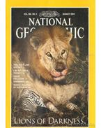 National Geographic August 1994 Vol. 186. No. 2.