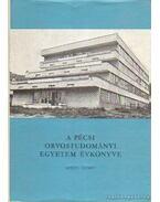 A Pécsi Orvostudományi Egyetem évkönyve 1976-77. tanév