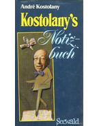 Kostolany's Notizbuch