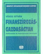 Finanszírozás-gazdaságtan