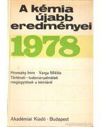 A kémia újabb eredményei 1978