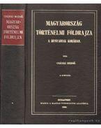 Magyarország történelmi földrajza a Hunyadiak korában