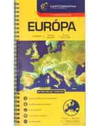 Európa országatlasz (1: 1 500 000)