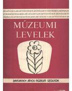 Múzeumi levelek 67-68. szám
