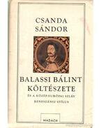 Balassi Bálint költészete és a közép-európai szláv reneszánsz stílus