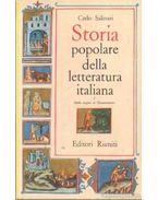 Storia poplare della letteratura italiana I-III. kötet