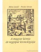 A magyar kémia és vegyipar kronológiája 1800-1950
