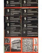 Magyar művészettörténet 1-10. (10 db) (teljes sorozat)