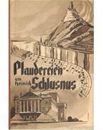 Plaudereien um Heinrich Schlusnus