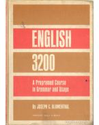 English 3200