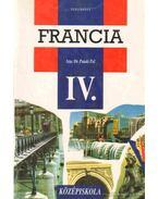 Francia nyelvkönyv a gimnázium IV. osztálya számára