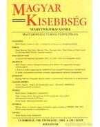 Magyar kisebbség VIII. évfolyam - 2003. 4. (30.) szám