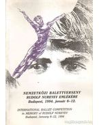 Nemzetközi balettverseny Rudolf Nureyev emlékére