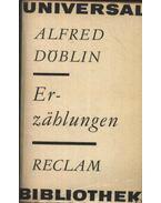 Erzählungen - Döblin, Alfred