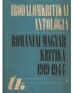 Romániai magyar kritika 1919-1944