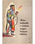 Húsz esztendős a Szolnok megyei Vasipari Vállalat - Sóskuti Júlia
