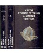 Magyar pénzügyi és tőzsdei almanach 1992-1993 I-II.