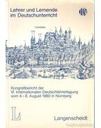 Lehrer und Lernende im Deutschunterricht