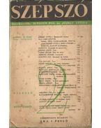 Szép Szó 1936. április I. kötet II. füzet