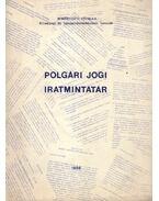 Polgári Jogi Iratmintatár