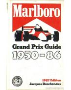 Marlboro Grand Prix Guide 1950-86