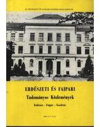 Erdészeti és faipari Tudományos közlemények 1984. év 1-2. sz.