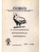II. magyarországi rétisasvédelmi konferencia 1995. 1. szám