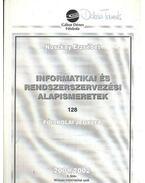 Informatikai és rendszerszervezési alapismeretek