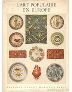 L'art populaire en Europe