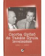 Csorba Győző és Takáts Gyula levelezése