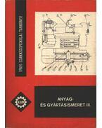 Anyag- és gyártásismeret III.
