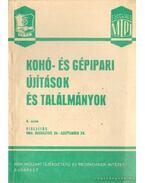 Kohó-és gépipari újítások és találmányok 1964.  8. szám