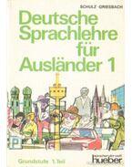 Deutsche Sprachlehre für Ausländer 1.