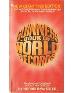 Guinnes Book of World Records 1986