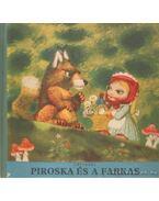Piroska és a farkas (kihajtható) - Jiri Trnka