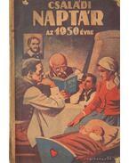 Családi naptár az 1950. évre