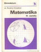 Matematika III. osztály